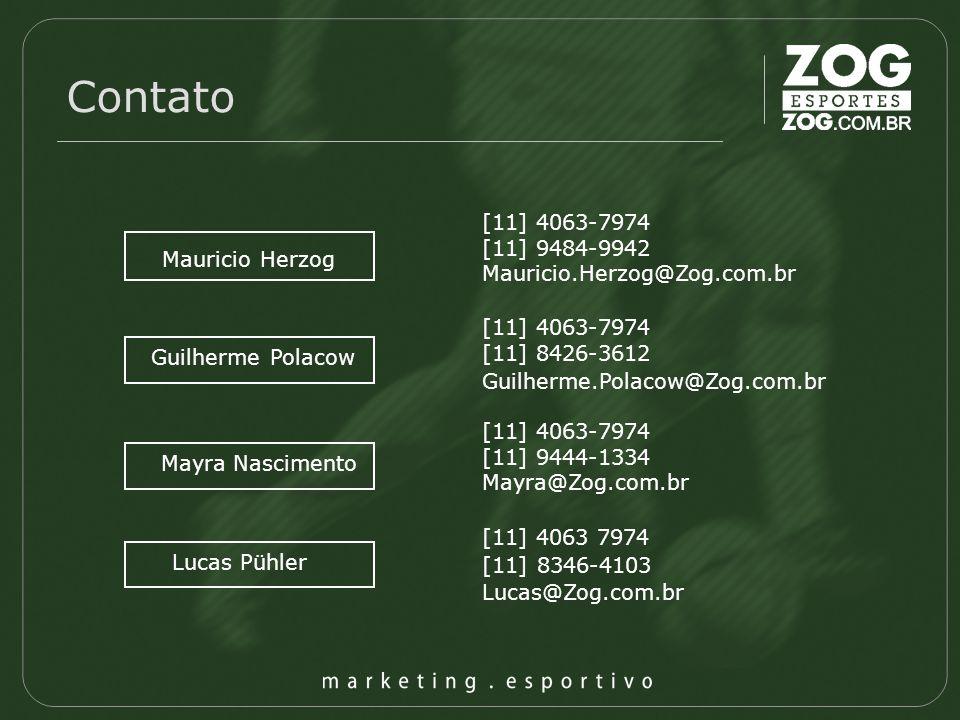Contato [11] 4063-7974 [11] 9484-9942 Mauricio.Herzog@Zog.com.br